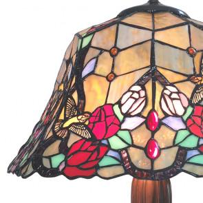 Tafellamp bloem 42x58cm