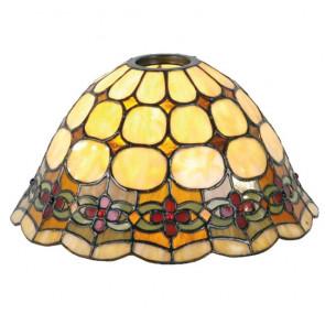T-hanglamp 2 lichts + lampenkapjes Bloem