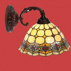 Wandlamp-leeslamp Bloem
