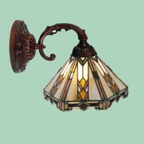 Wandlamp-leeslamp Art Deco Arrow