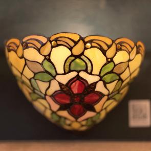 Wandlamp schelp Victorian Flower