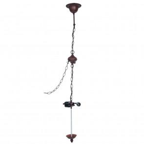 "Armatuur - 4 kettingen t.b.v. lamp-ophanging ""mandje"" vierkant"