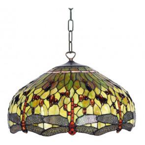 Hanglamp Libelle Groen 50cm