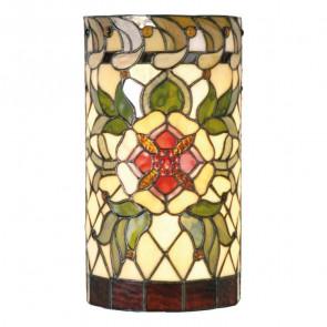 Wandlamp cilinder Victorian Flower