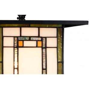 Hanglamp Frank Lloyd Wright orange