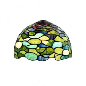 Strakke hanglamp Tiffany Hydragea