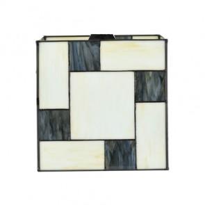 Lampenkap Tiffany Mondriaan