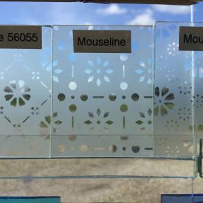 Mouseline glas (56051) (0,12m²)