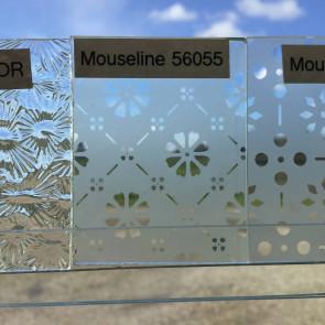 Mouseline glas (56055) (0,12m²)