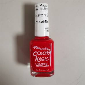 Color Magic Poppy Red
