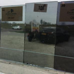 D108 blauwgrijs antiek Desag (0,12 m²) OP=OP