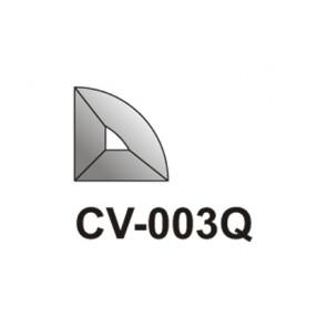 Facet kwart Cirkel  38x38
