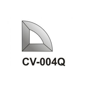 Facet kwart Cirkel  51x51
