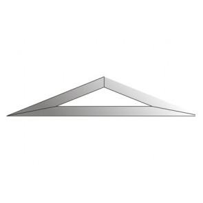 Facet driehoek 51x254