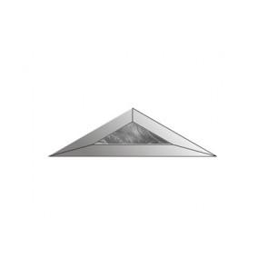 Facet driehoek 51x176 (HD-47) IJsbloem