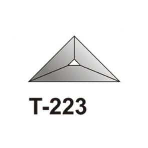 Facet driehoek 51x51x70