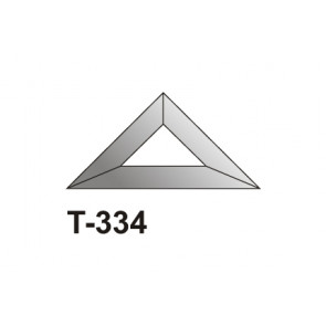 Facet driehoek 76x76x108