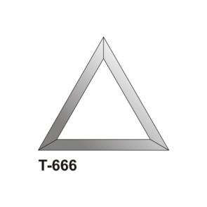 Facet driehoek 152x152x152
