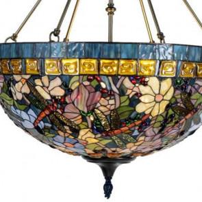Plafondlamp groot Garden Kleurrijk