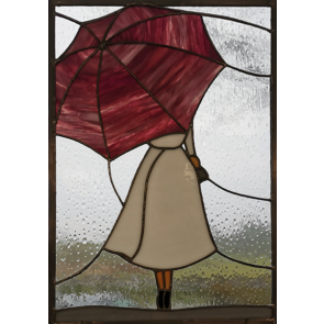 Tiffany 022 | 31x50 cm raamhanger paraplu
