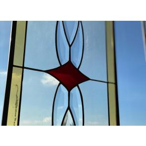 Tiffany 013 | 29x76 cm voorzetraam