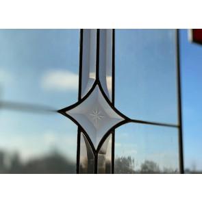 Tiffany 014 | 31x95 cm voorzetraam