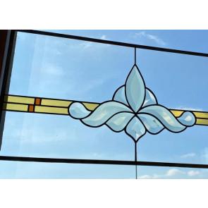 Tiffany 017 | 69x30 cm voorzetraam facet