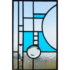 Glasinlood 030 | 27x43 cm Raamhanger modern
