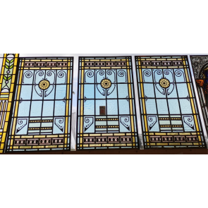 Glasinlood 018 | 39x64 cm voorzetraam oud