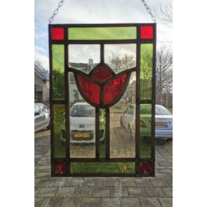 Glasinlood 002 | 19x28 cm Raamhanger bloem