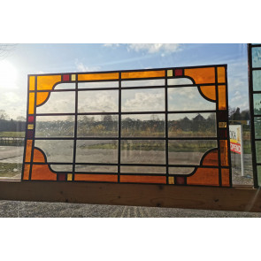 Glasinlood 007 | 54x16 cm Voorzetraam oranje