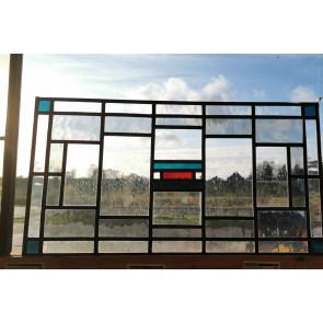 Glasinlood 008 | 65x35 cm Voorzetraam strak