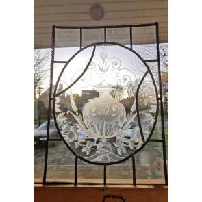 Glasinlood 009 | 46x63 cm voorzetraam oud geëtst