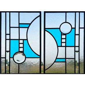 Glasinlood 101 | 27x43 cm Raamhangers modern (set)