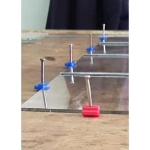 Glasstoppers (beschermblokjes) 25 stuks)