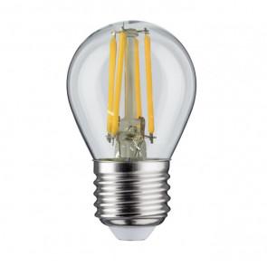LED-lamp E27 bol Ø4,5cm 4W  ( niet dimbaar)
