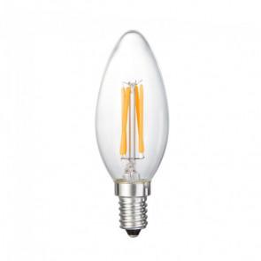 LED-lamp E14 kogel 2 watt (dimbaar)