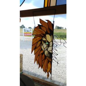 Tiffany 023 | muur- of raamhanger Leeuw Spirit