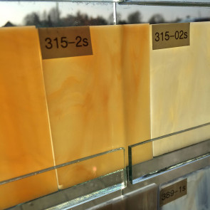 S315-2S-F (0,12m²) Oranje-oker