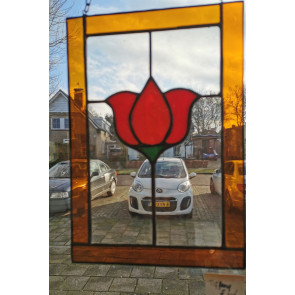 Tiffany 001 | 19x28 cm Raamhanger bloem