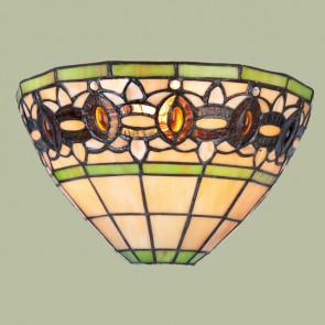 Wandlamp schelp Olive Green
