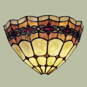 Wandlamp schelp Bloem