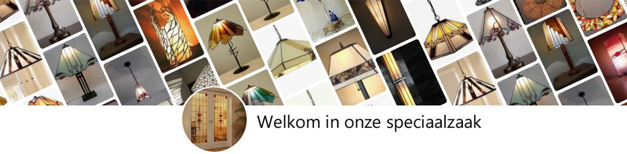 Tiffanylampen winkel, atelier en online