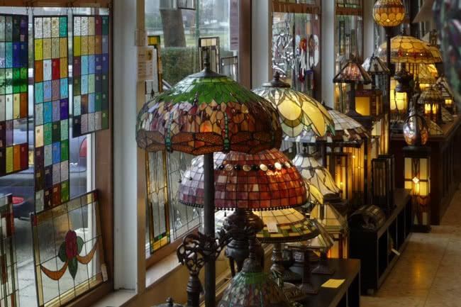Vloerlampen-winkel